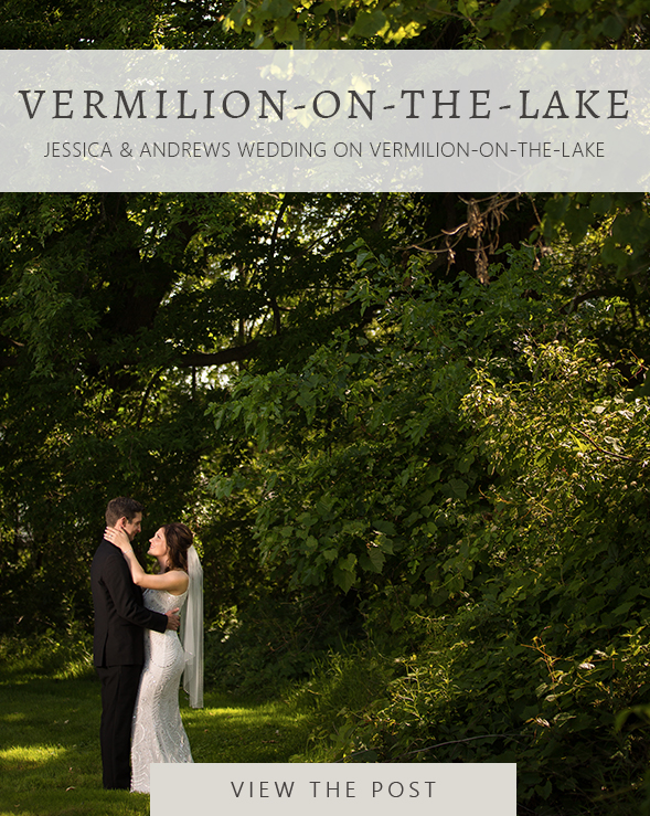 Jessica Andrew Vermilion On The Lake Wedding Photographer Julina Marie